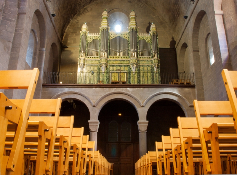 Agde Cathedrale orgue Guillemin