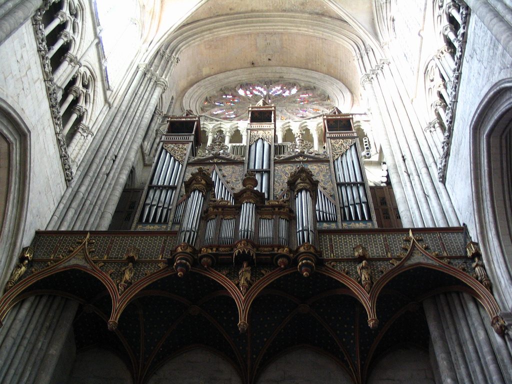 Amiens cathedrale orgue Dallery