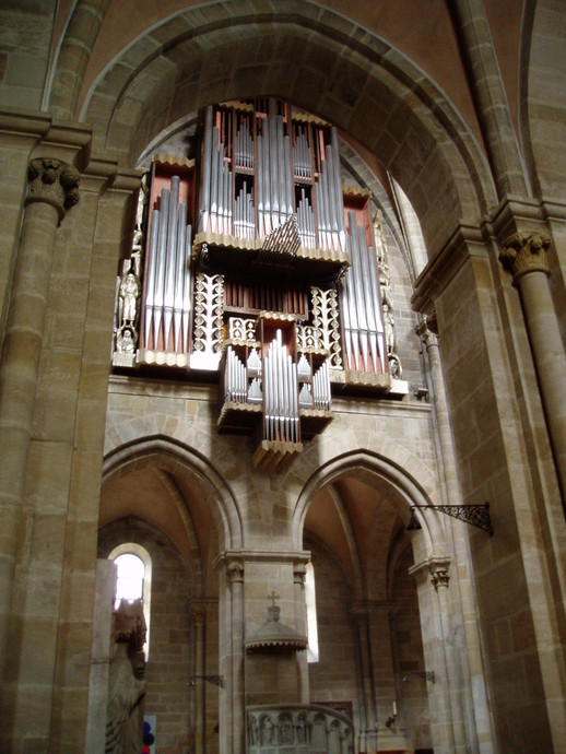 Bamberg Dom Rieger orgel