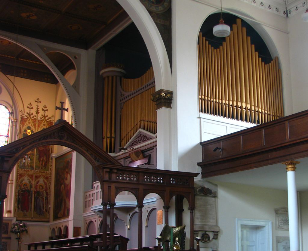 Belfast St George's Church Walker organ