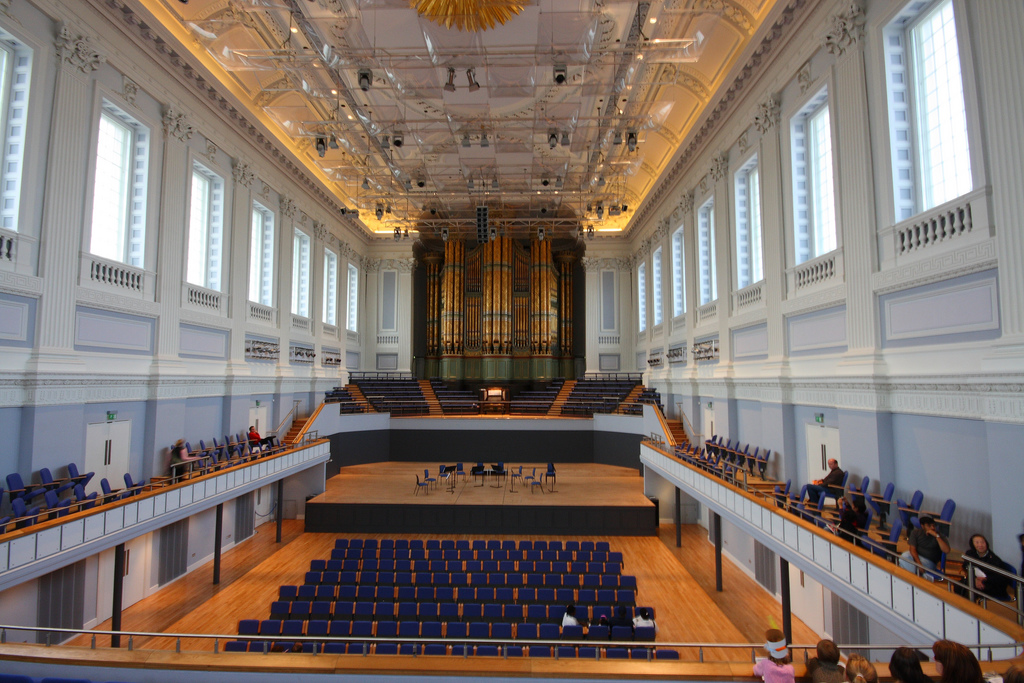 Birmingham Town Hall Hill organ