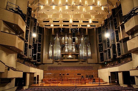 Brisbane Arts Center Concert Hall