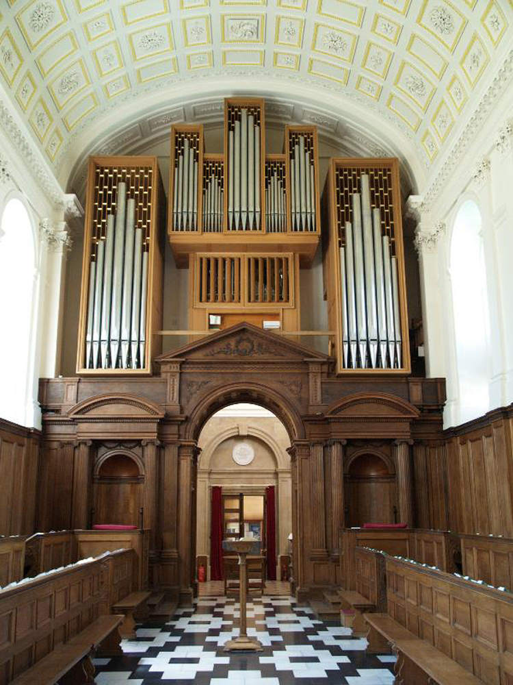 Cambridge Clare College Chapel Beckerath organ