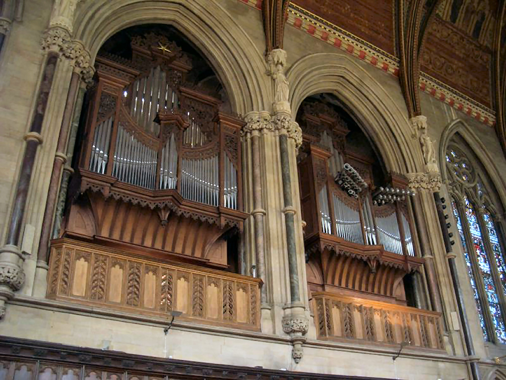 Cambridge St John's College Mander organ