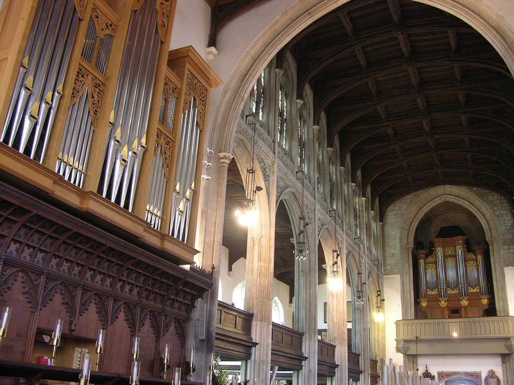 Cambridge Great St Mary Parish & University organs