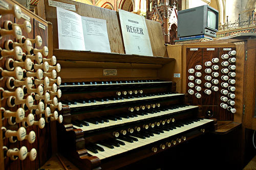 Cork Cathedral Hill organ