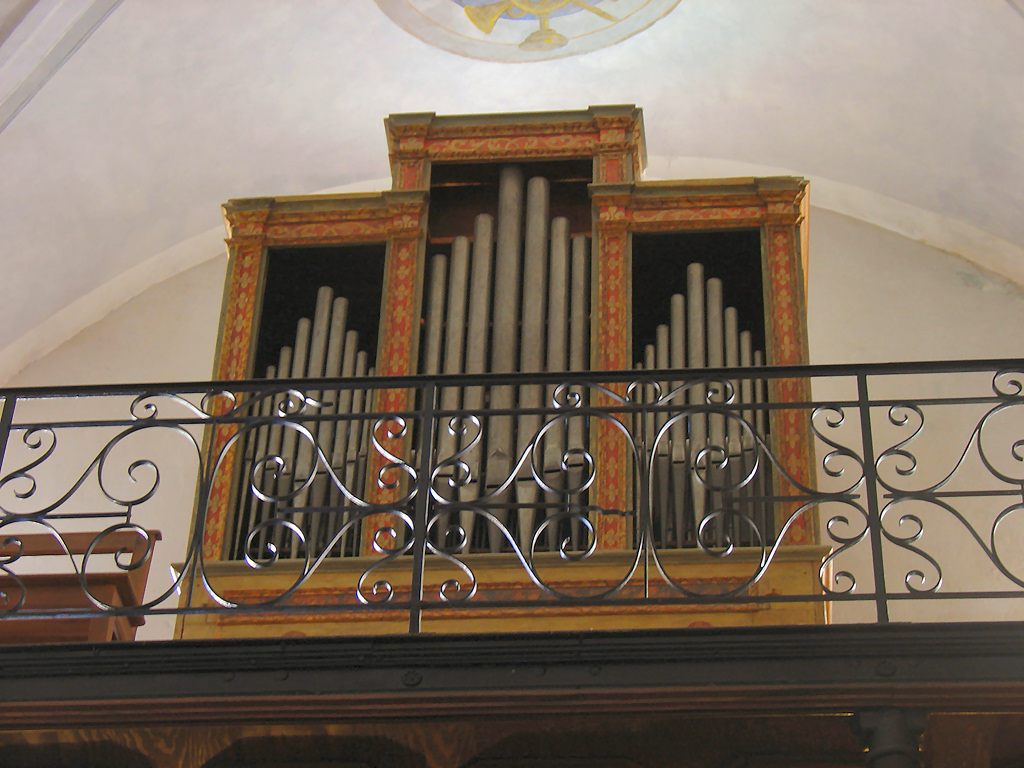 Corte Eglise de l'Annonciation orgue Werle