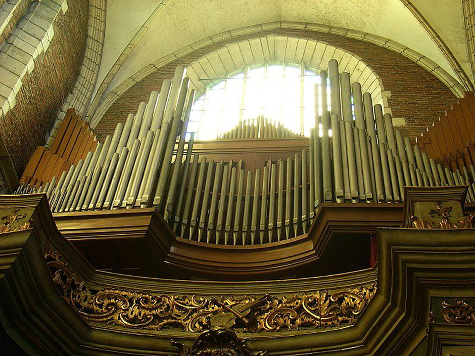 Cracovie Corpus Christi Biernacki Le grand-orgue