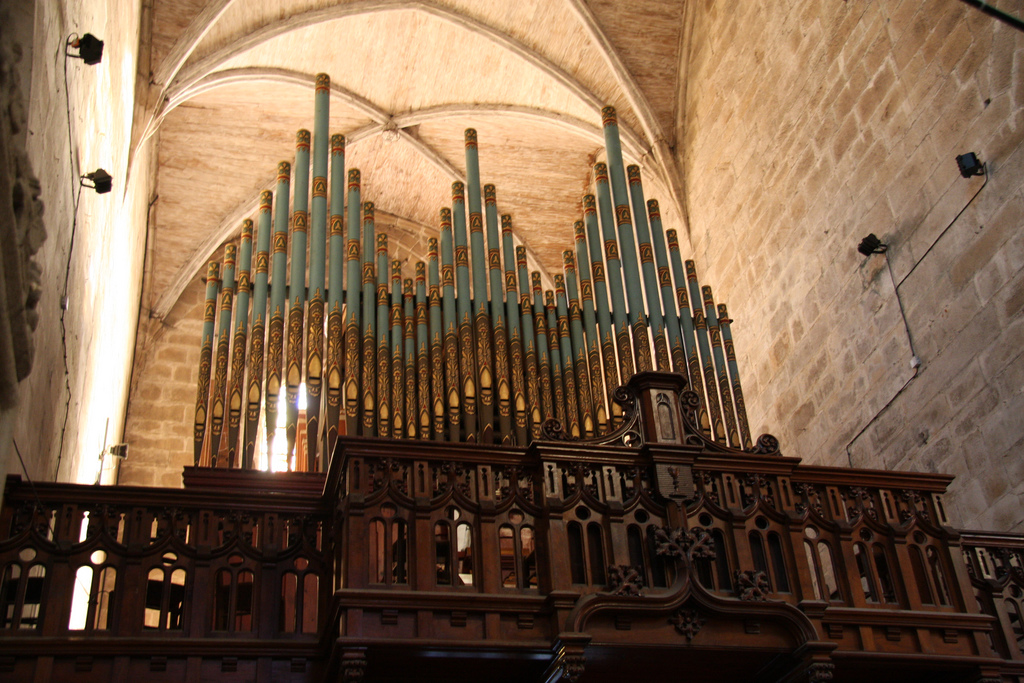 Dinan Eglise St Malo orgue Oldknown
