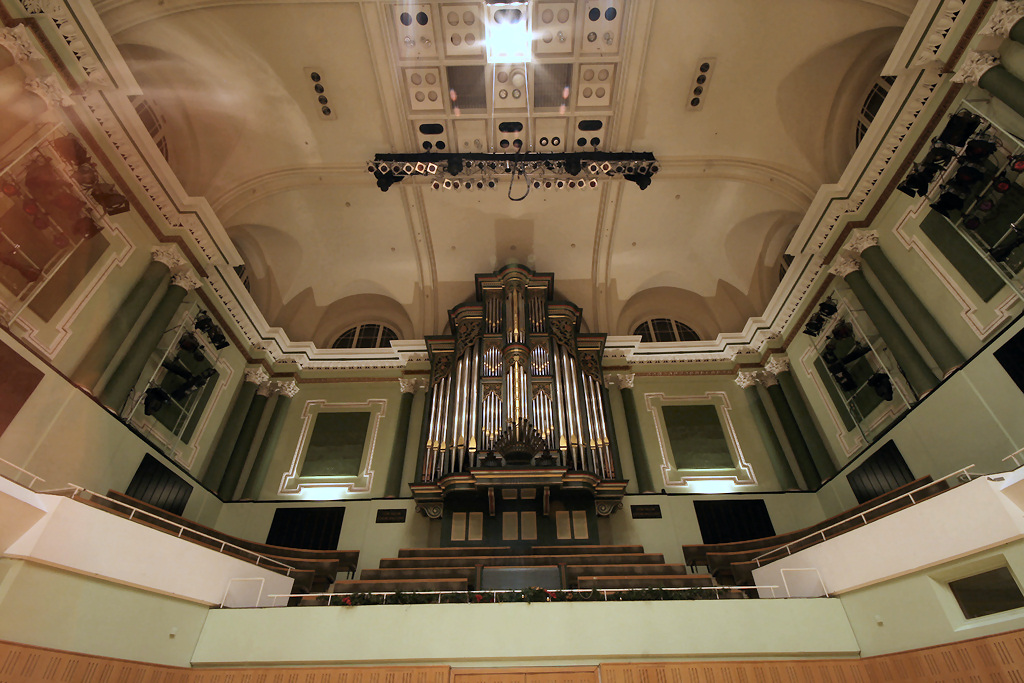 Dublin National Concert Hall Jones organ
