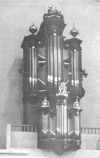 Eton College Hall Dutch Organ
