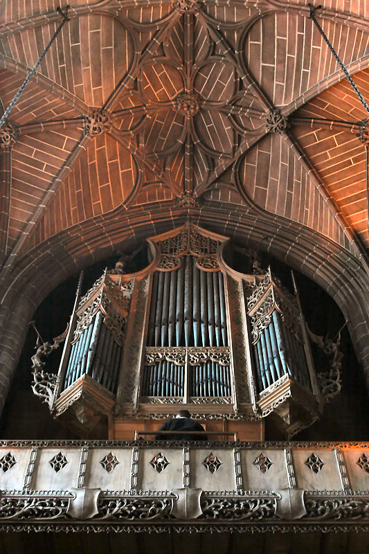 Liverpool Cathedral Lady Chapel Willis organ
