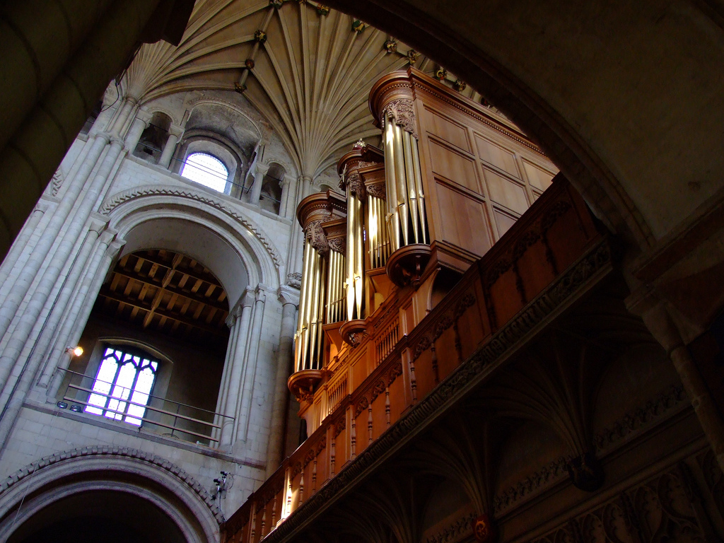 Norwich Cathedral Hill organ