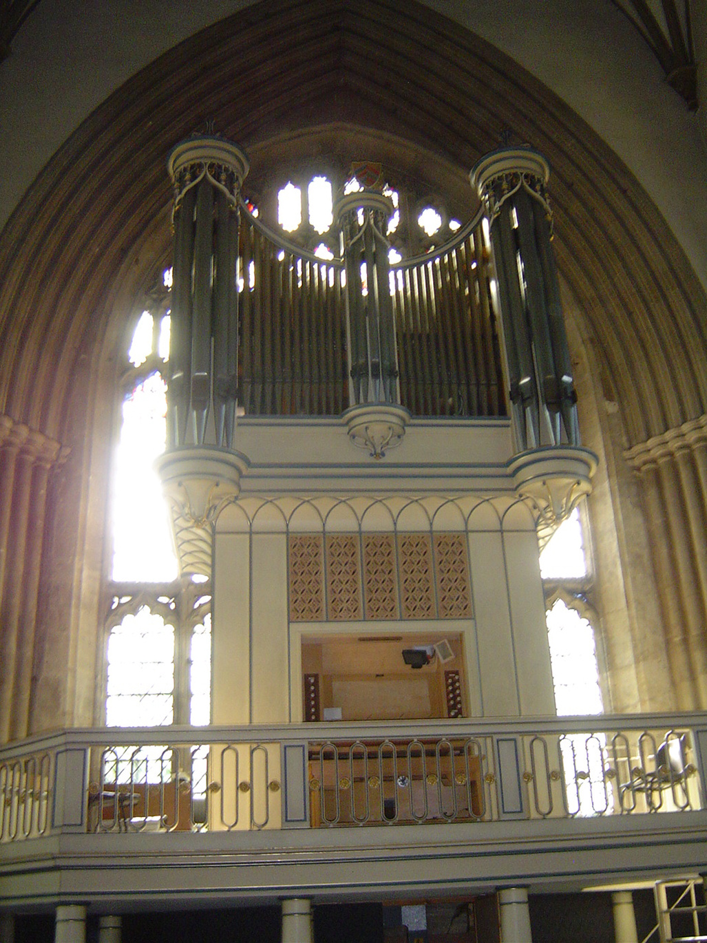 Oxford Merton College Walker Organ