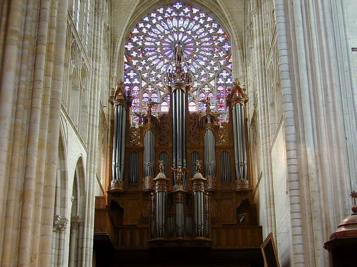 Orgue Kern Cathédrale Tours