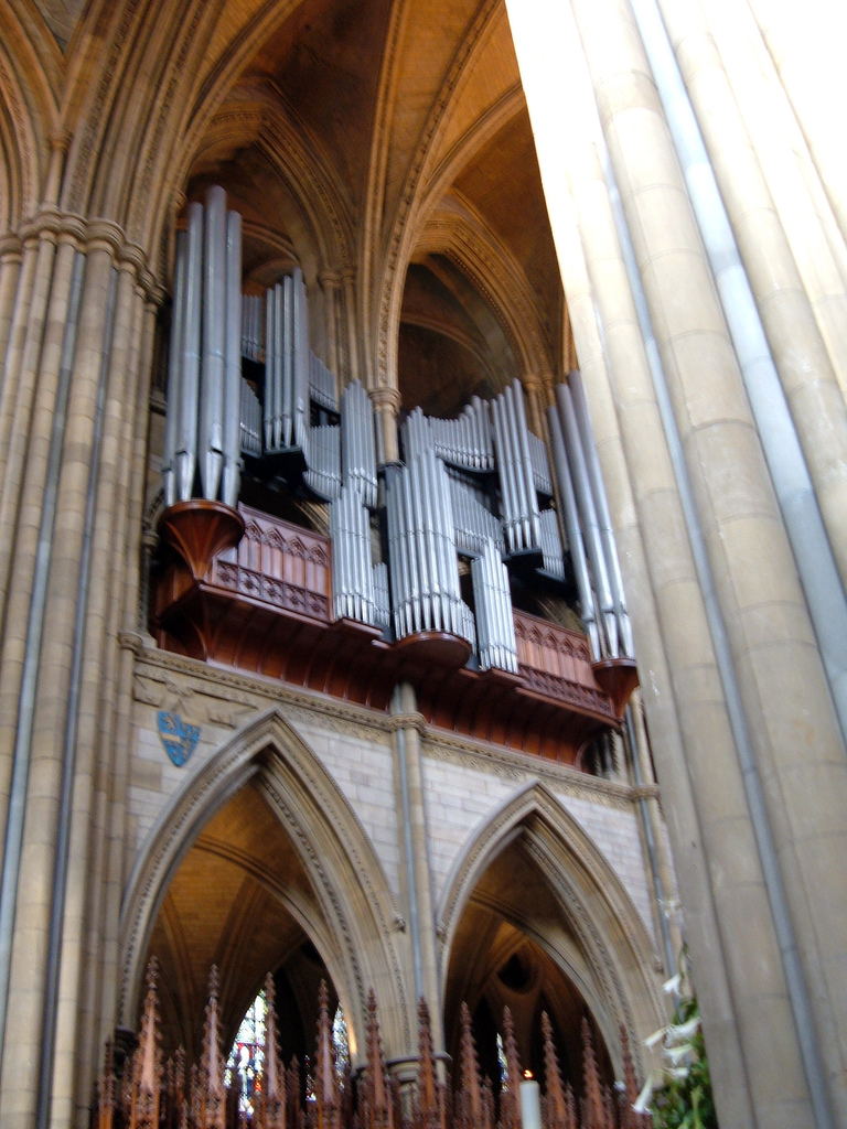 Truro Cathedral Willis organ