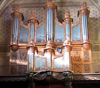 Pamiers Cathedrale St Antonin - orgue Chauvin