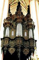 Torun Eglise de l'Assomption orgue Hellweig